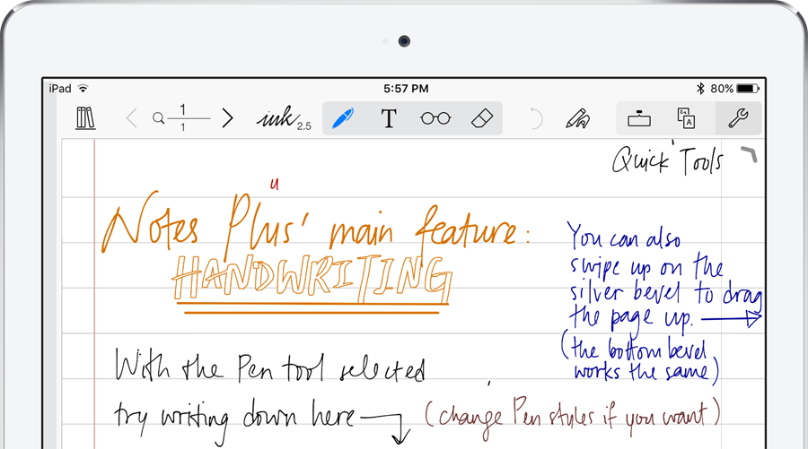 Notes Plus – WriteOn